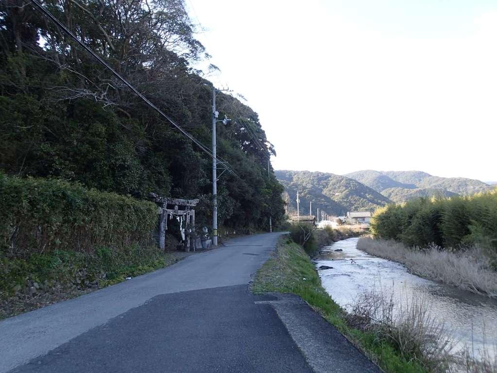 室津神社の周辺
