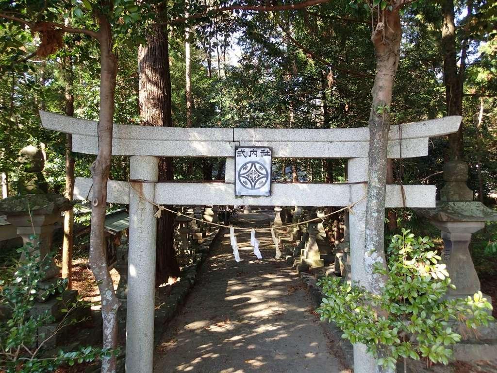 多気坂本神社の鳥居