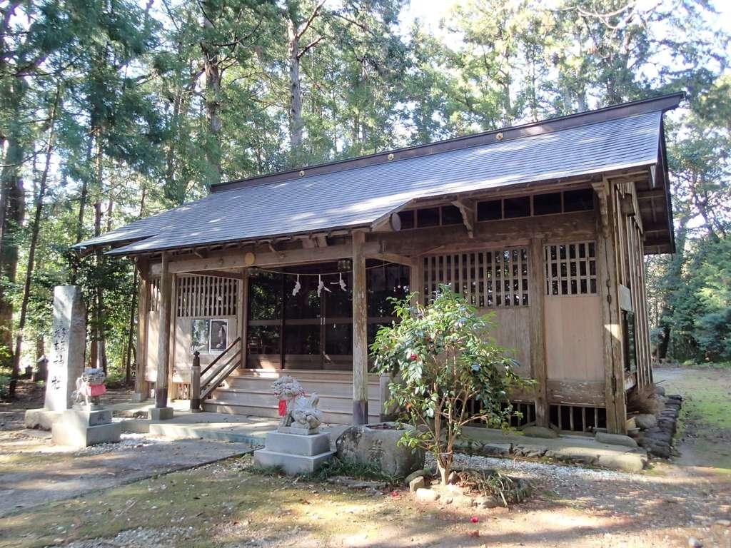 多気坂本神社の本殿