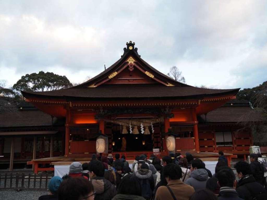 富士山本宮浅間大社の初詣