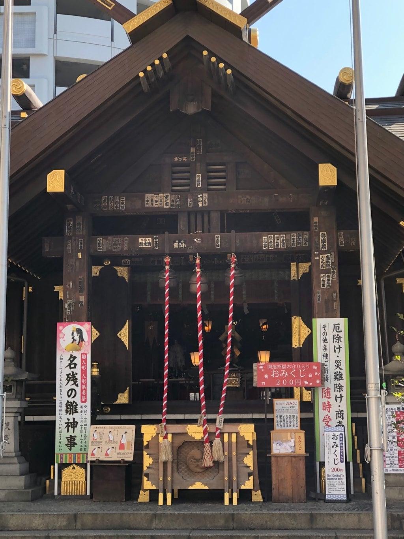 波除稲荷神社の本殿