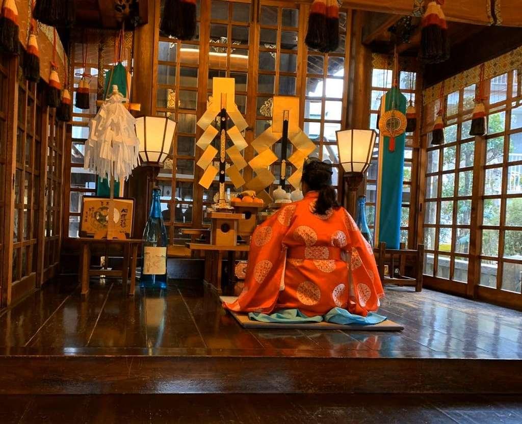 三輪神社のお祭り