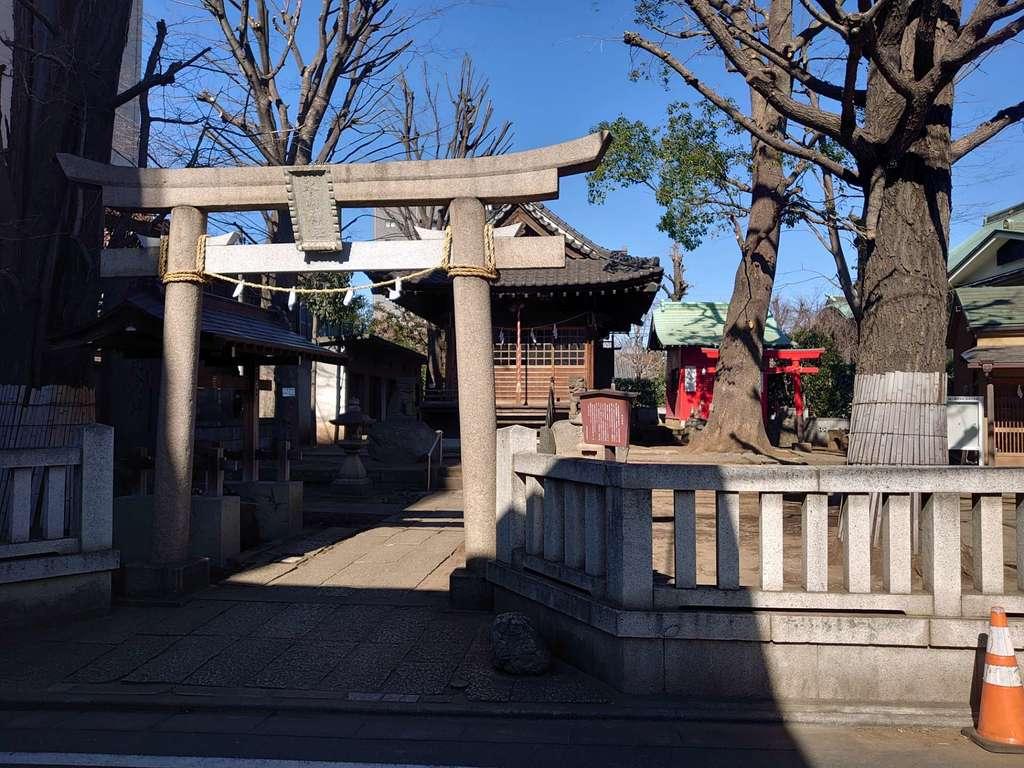 南藏院の鳥居