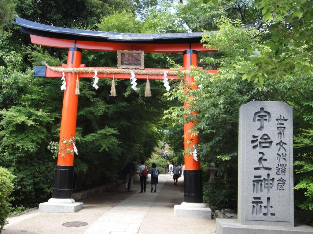 宇治上神社の鳥居