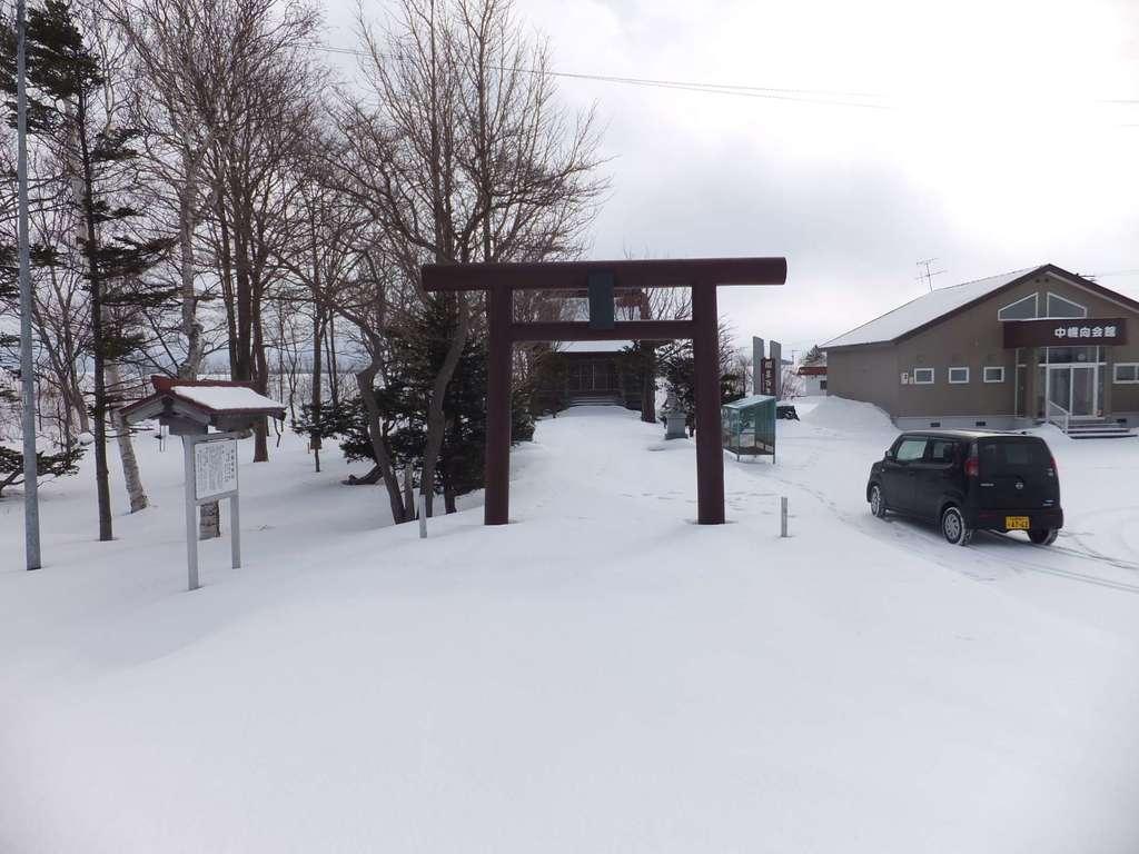 中幌向神社の鳥居