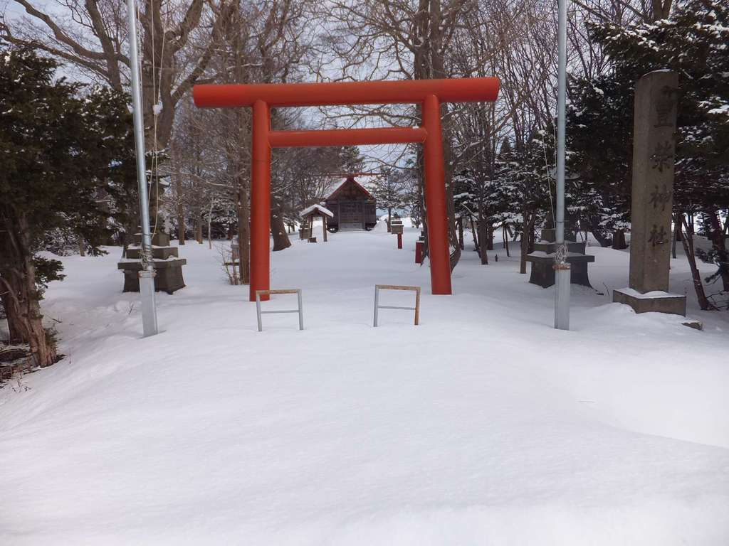 豊栄神社の鳥居
