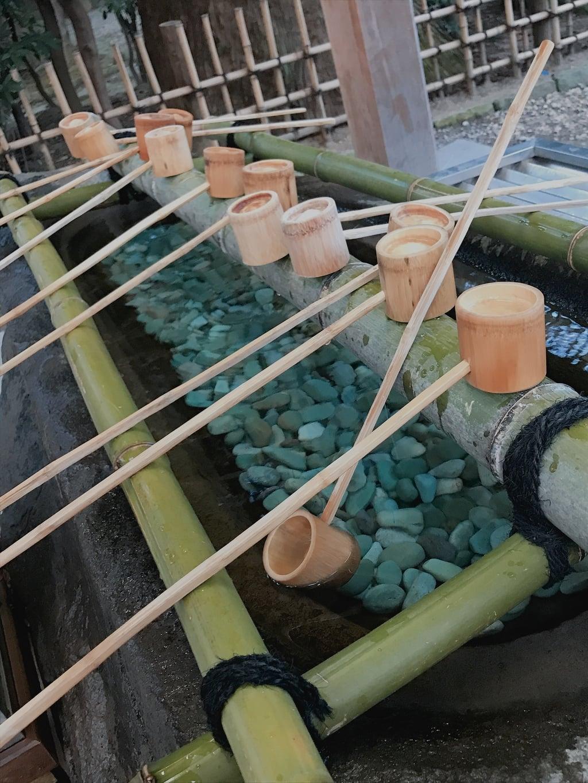 大崎八幡宮の手水