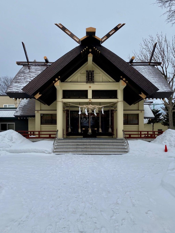 江南神社の本殿