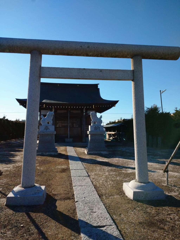 水神社の鳥居