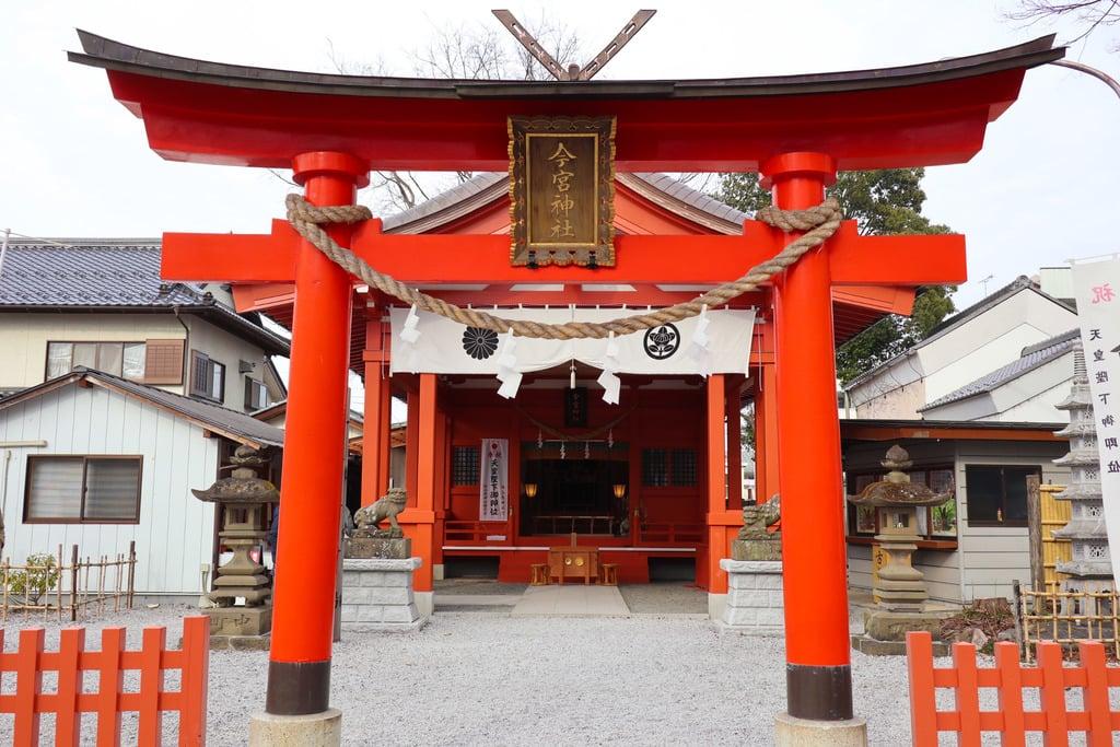 秩父今宮神社の鳥居
