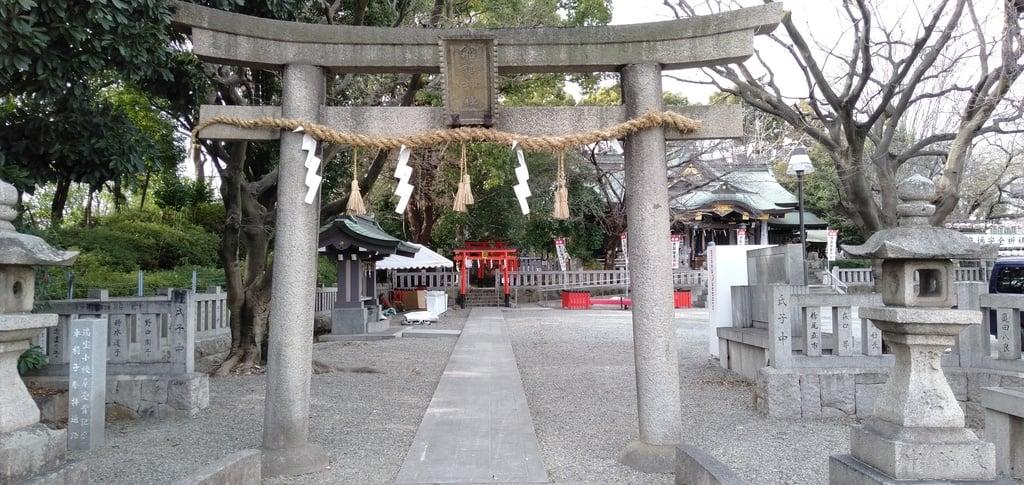 船詰神社の鳥居