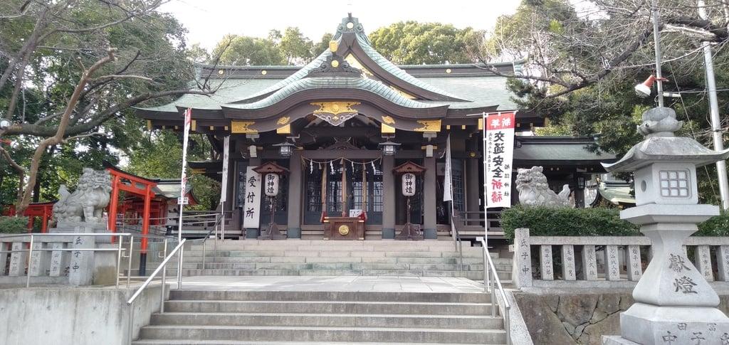 船詰神社の本殿