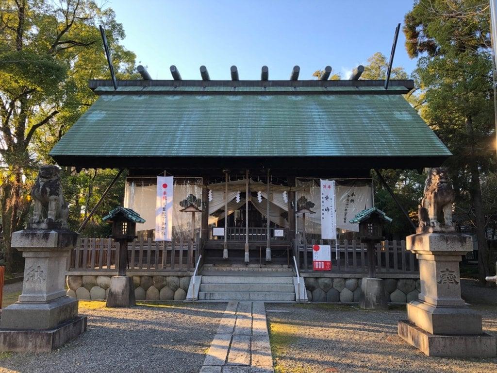 若宮神明社の本殿