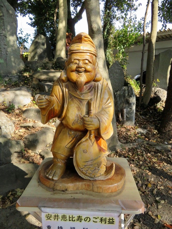 別小江神社の像