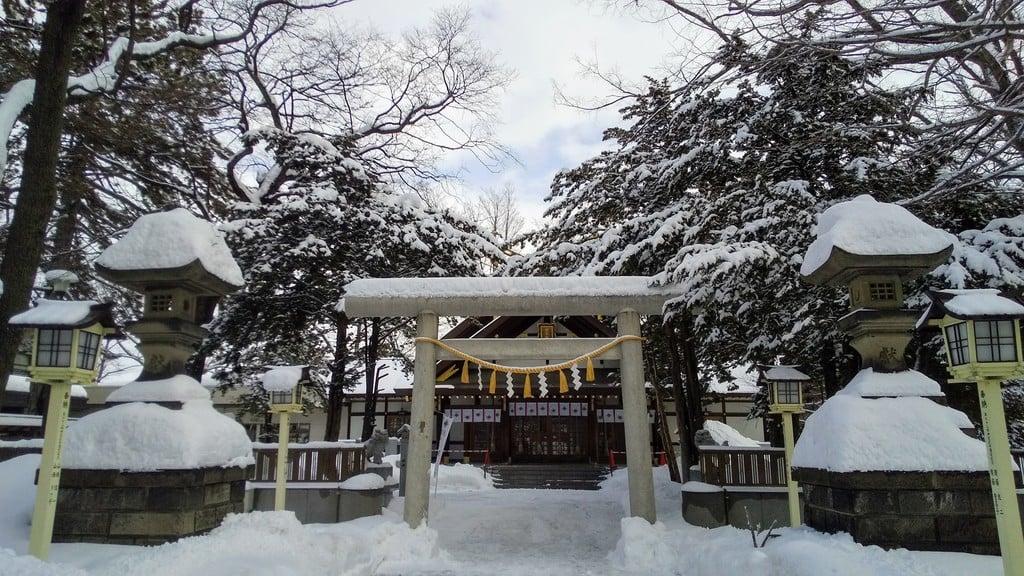 新琴似神社の末社