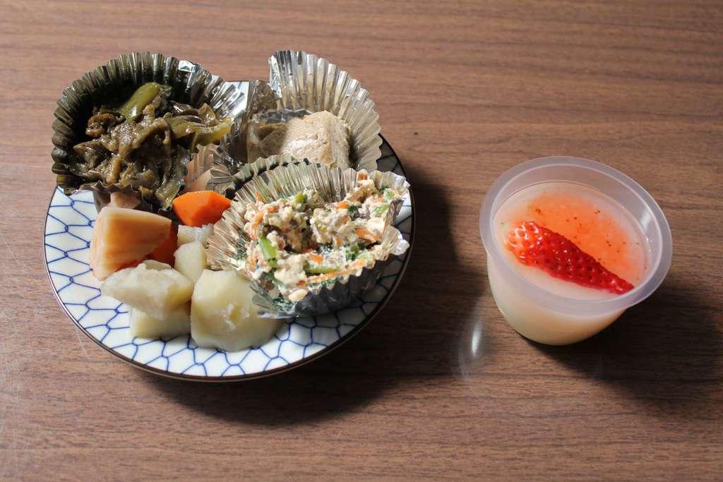 西方山極楽寺の食事