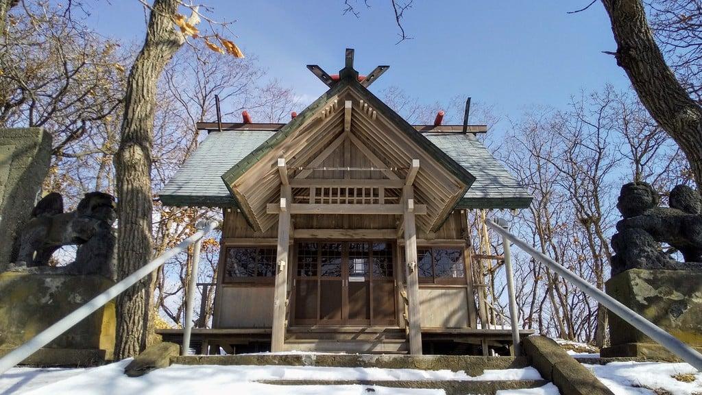 黄金神社の本殿