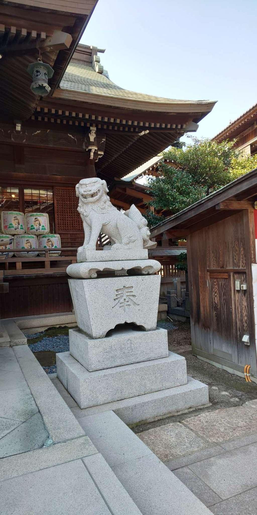 小倉祇園八坂神社の狛犬