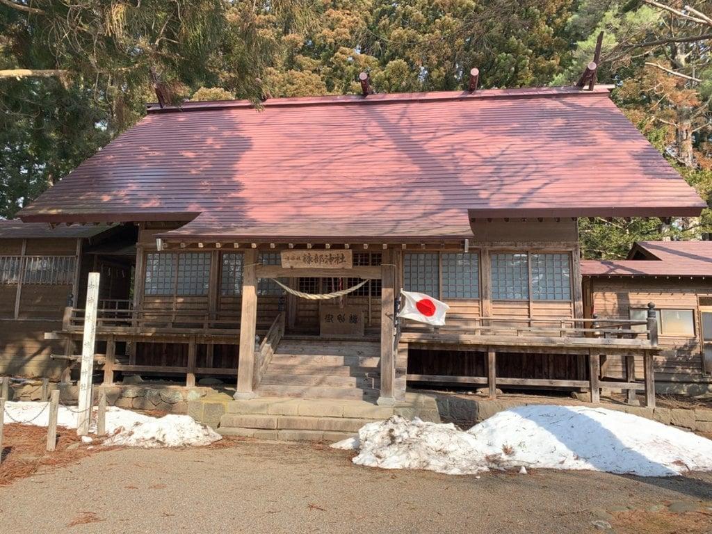 糠部神社の本殿
