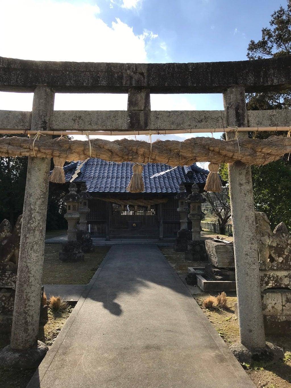 大野津神社の鳥居