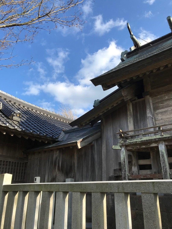 大野津神社の本殿