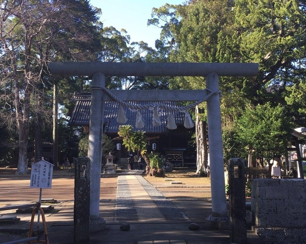 杉桙別命神社の鳥居