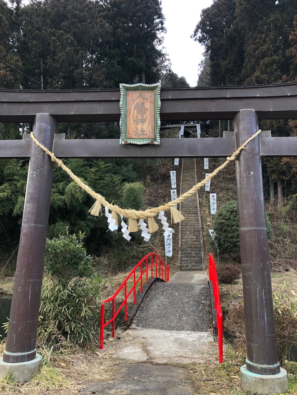 坪沼八幡神社の鳥居