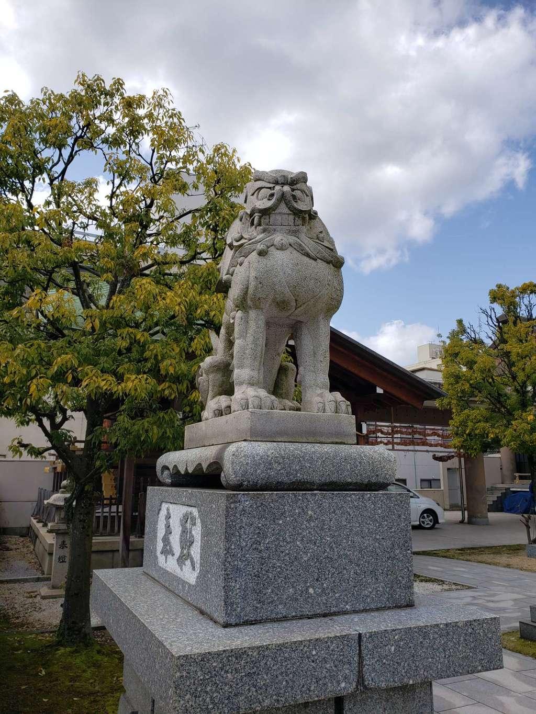 佐佳枝廼社の狛犬