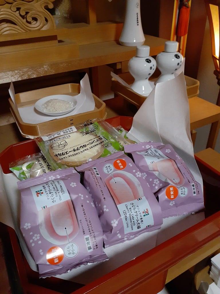 伏木香取神社の食事