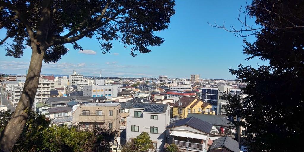 常陸第三宮 吉田神社の景色