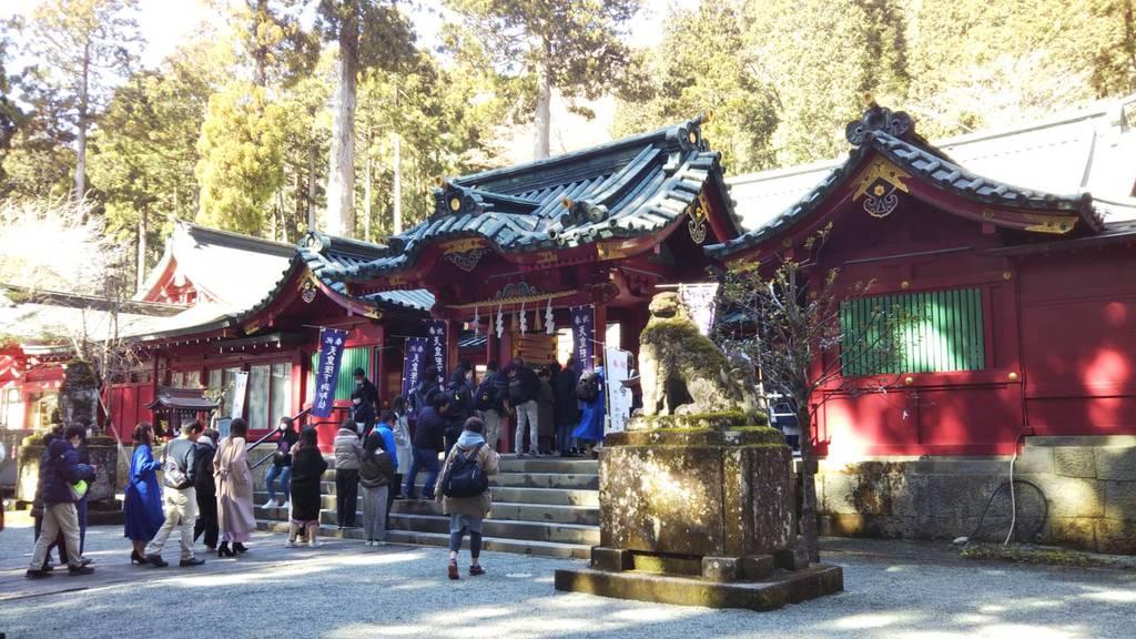 箱根神社の本殿