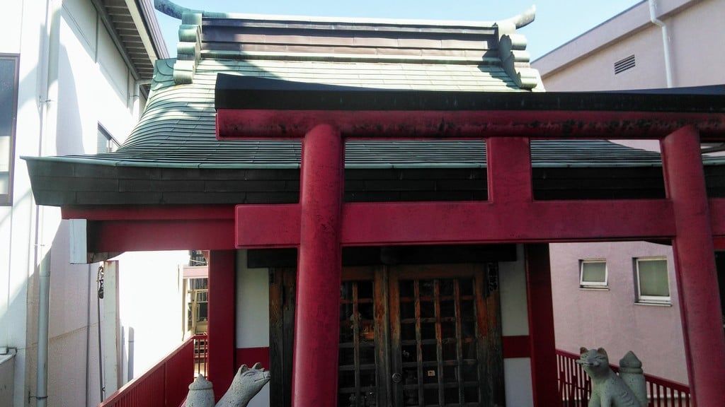 穴守稲荷分神社の本殿
