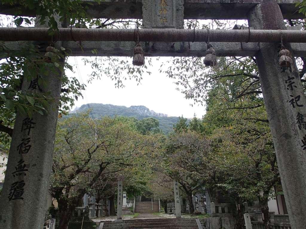 香春神社の鳥居