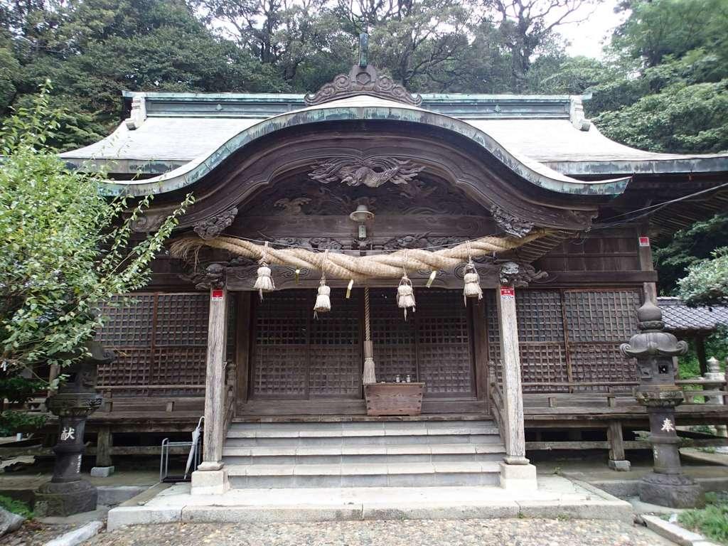 香春神社の本殿
