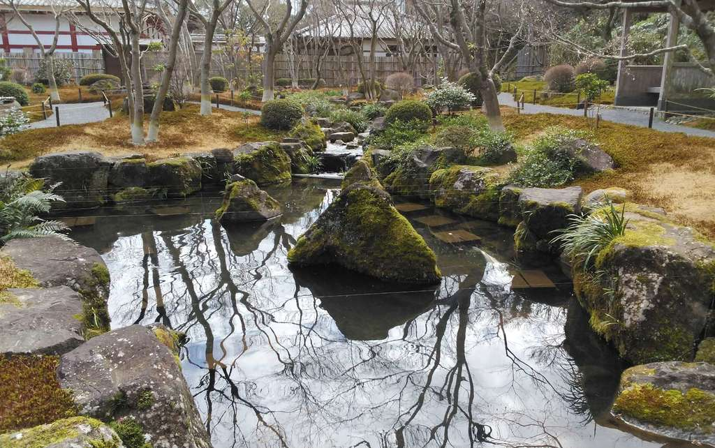 祐徳稲荷神社の庭園