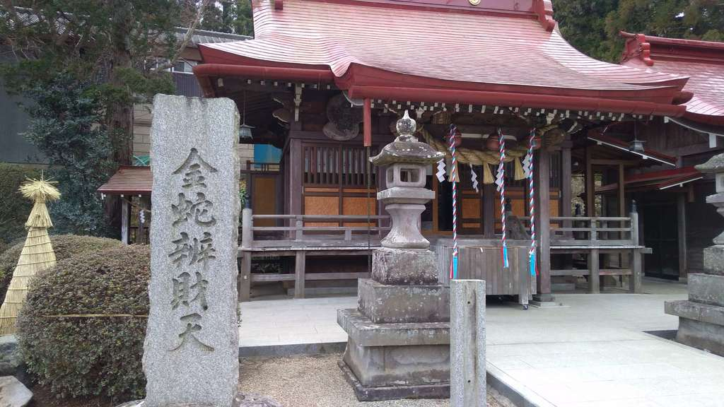 金蛇水神社の本殿