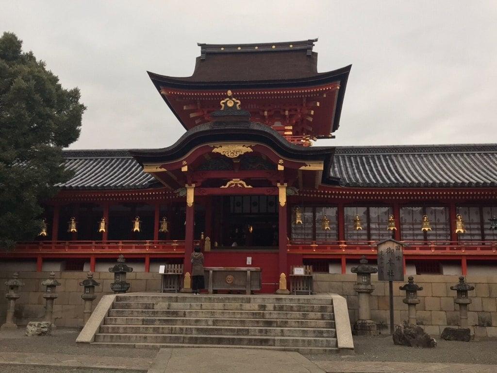 石清水八幡宮の本殿