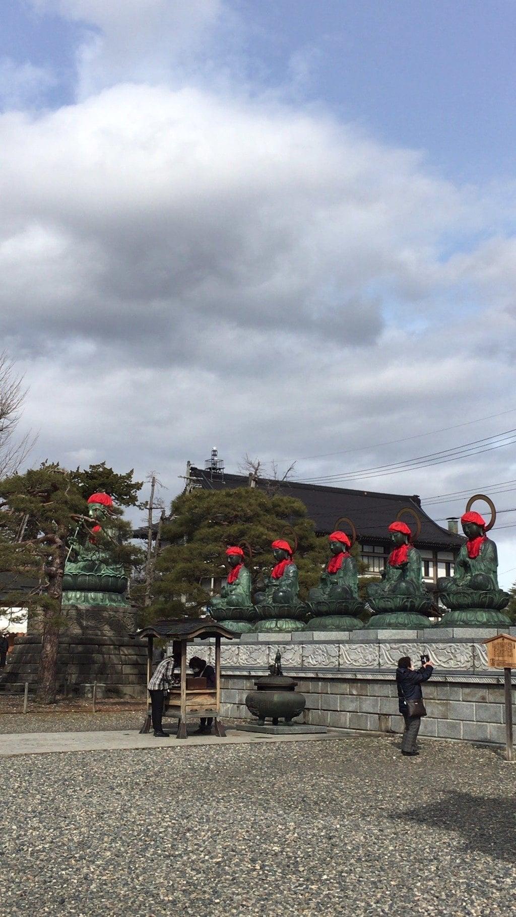 善光寺の地蔵