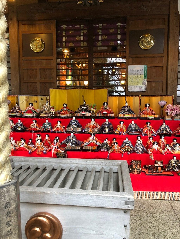 座間神社のお祭り