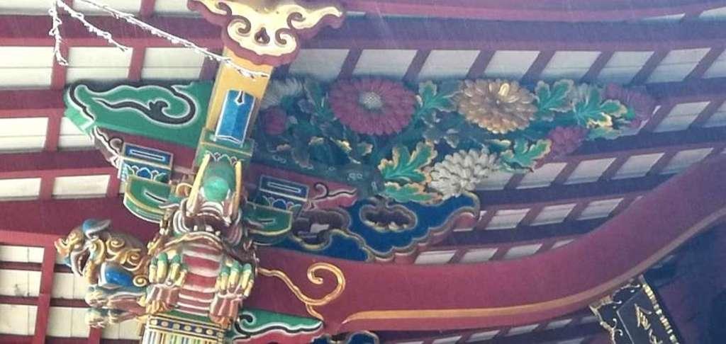 金王八幡宮の芸術