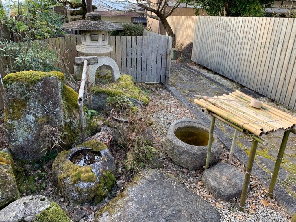 龍馬神社の庭園