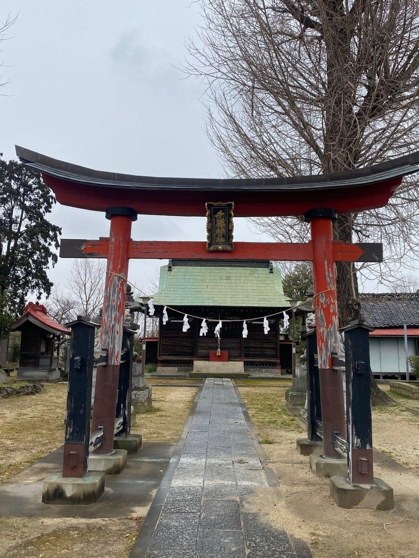 千勝神社の鳥居