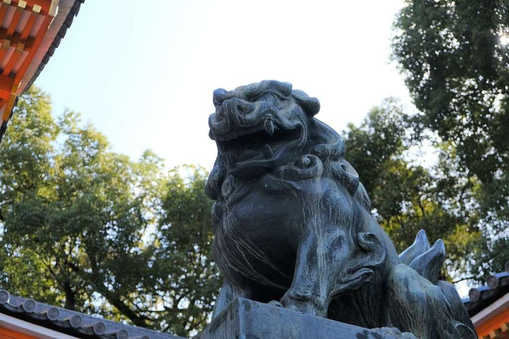 八坂神社(祇園さん)の狛犬
