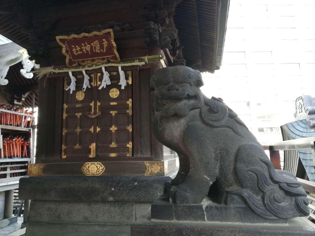 湯島天満宮の狛犬