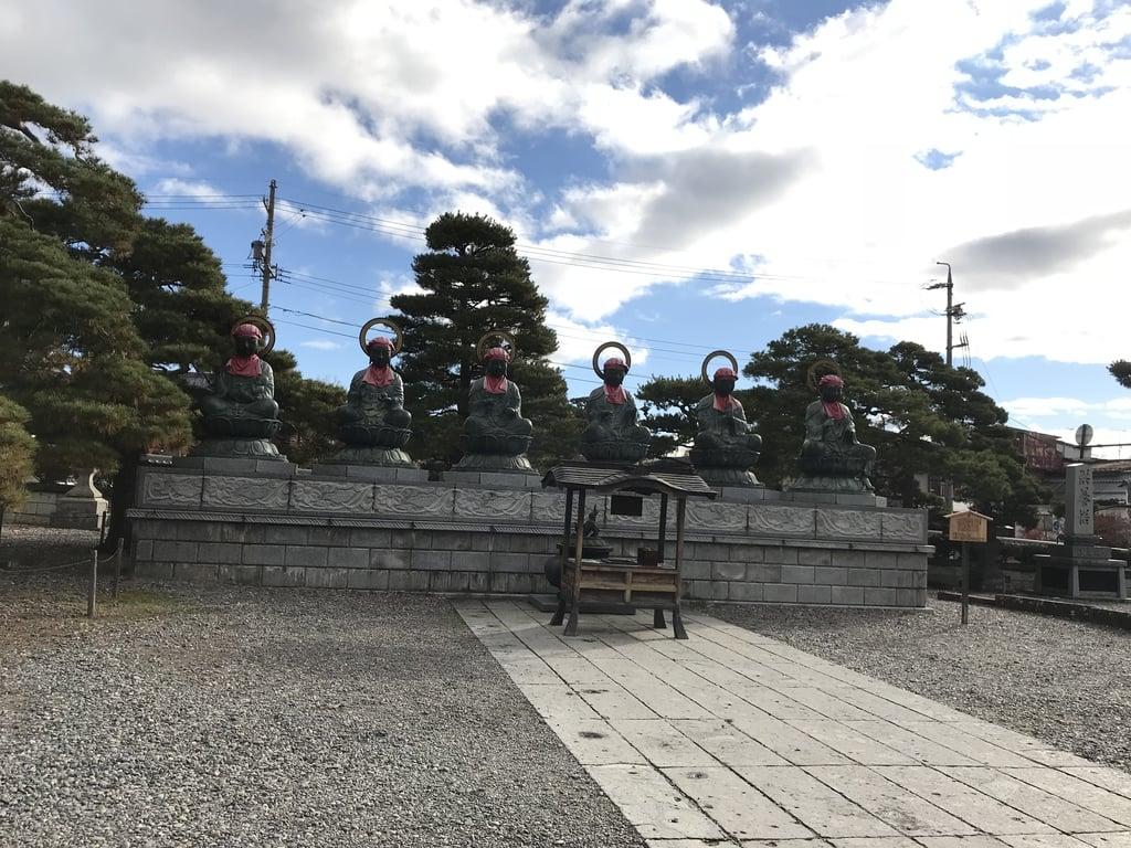 善光寺の像