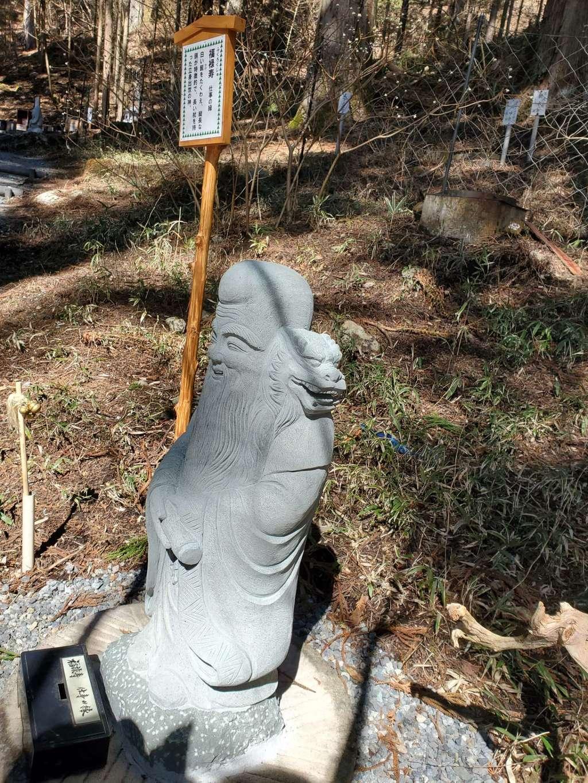 日光二荒山神社の像