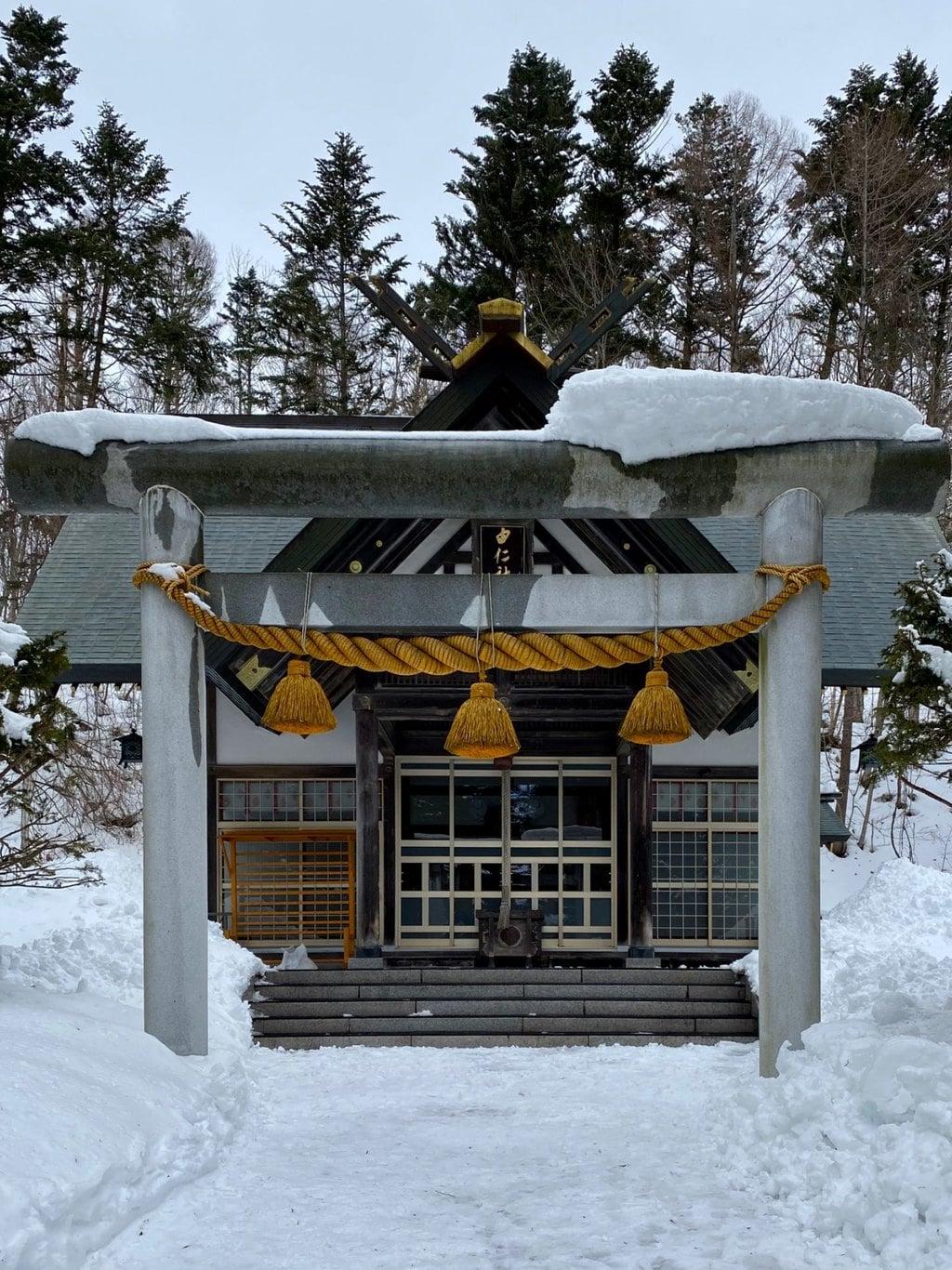 由仁神社の鳥居