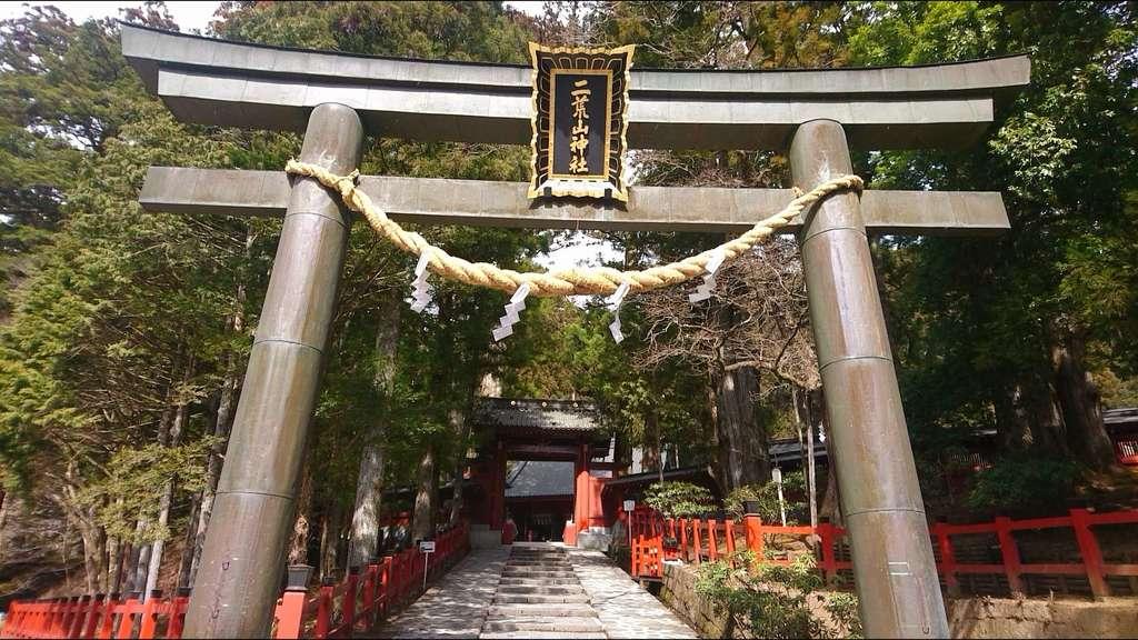 日光二荒山神社の鳥居
