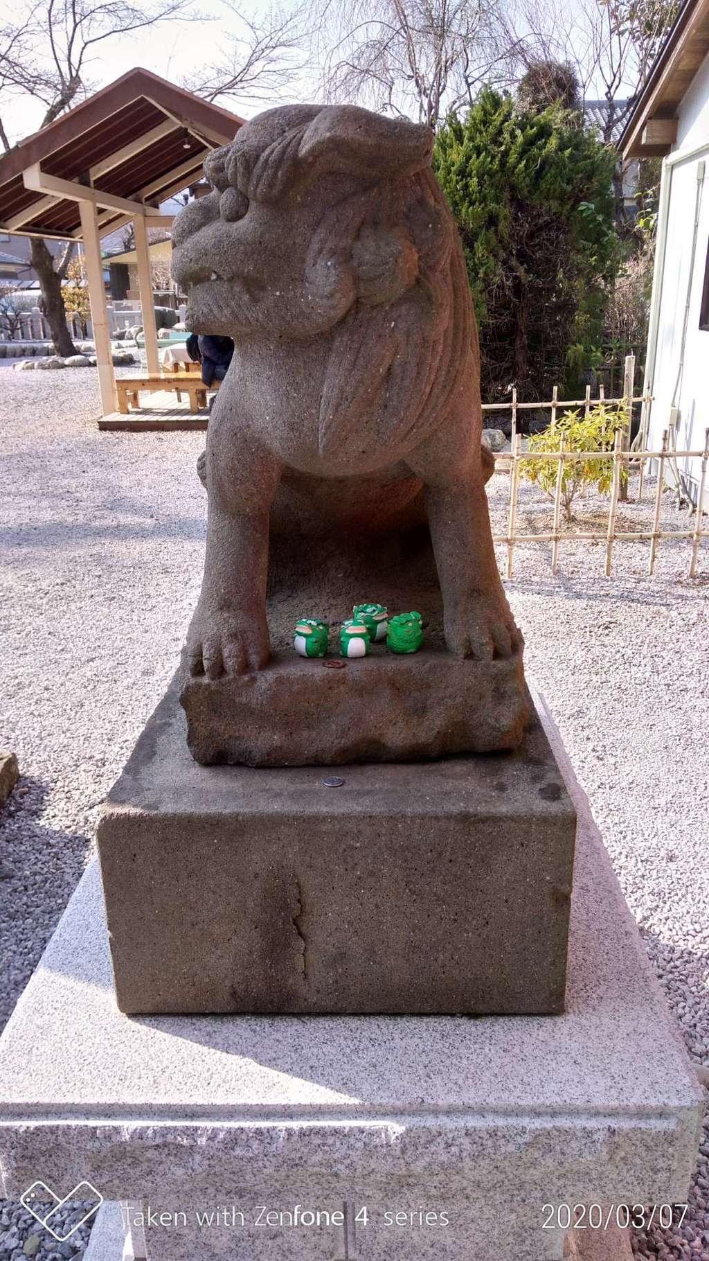 秩父今宮神社の狛犬