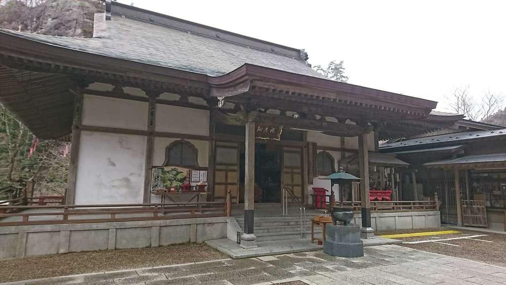 徳善院明王密寺の本殿